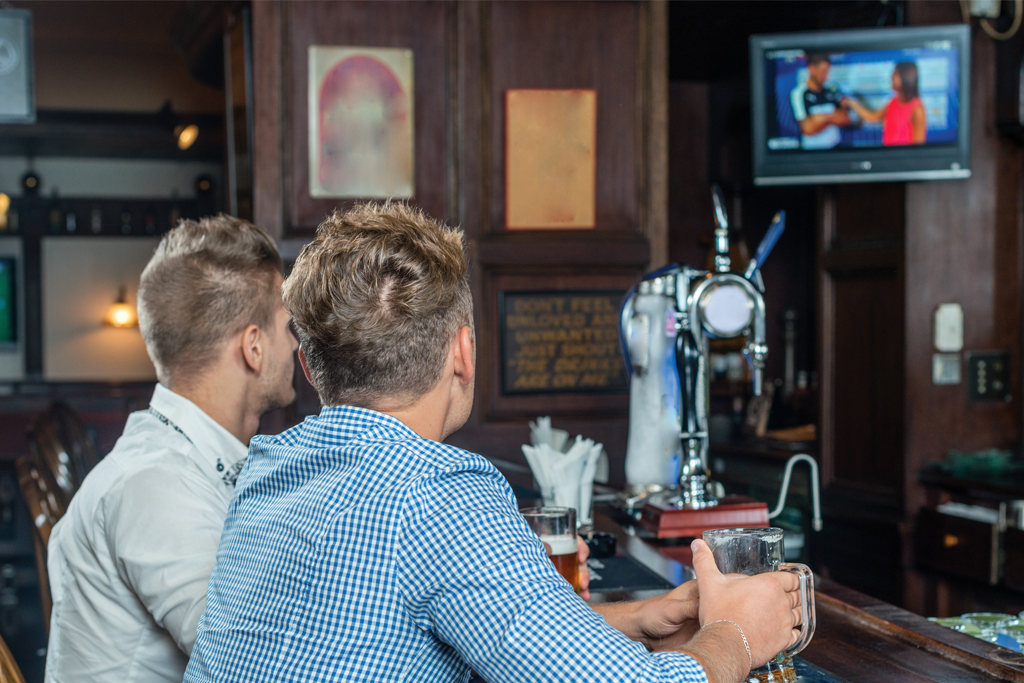 MyChoiceTV in sports bars